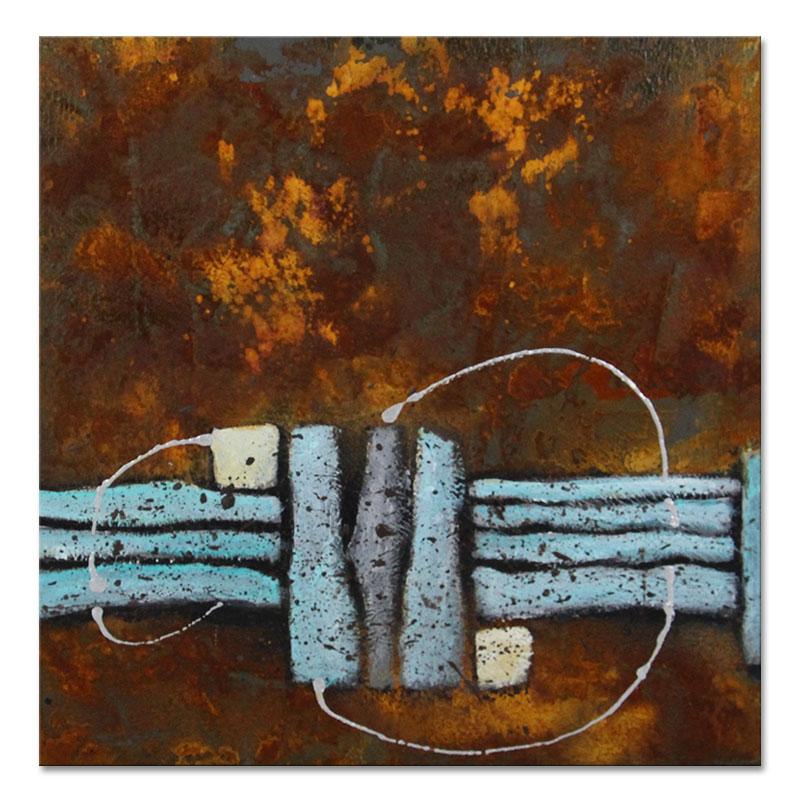 original bild abstrakt rost malerei modern kunst neu 141205 s schramm ebay. Black Bedroom Furniture Sets. Home Design Ideas